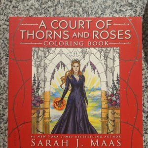 A Court of Thorns and Roses ACOTAR Coloring Book